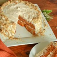 Delicious Vegan Carrot Cake