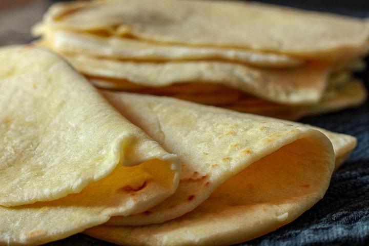 easy vegan homemade tortilla