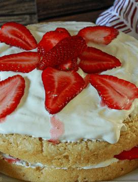Amazing Vegan Strawberry Shortcake