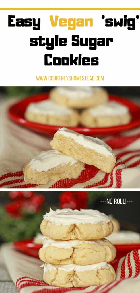 The Best Easy Vegan Sugar Cookies