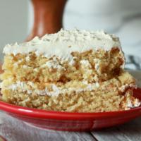 vegan classic white cake
