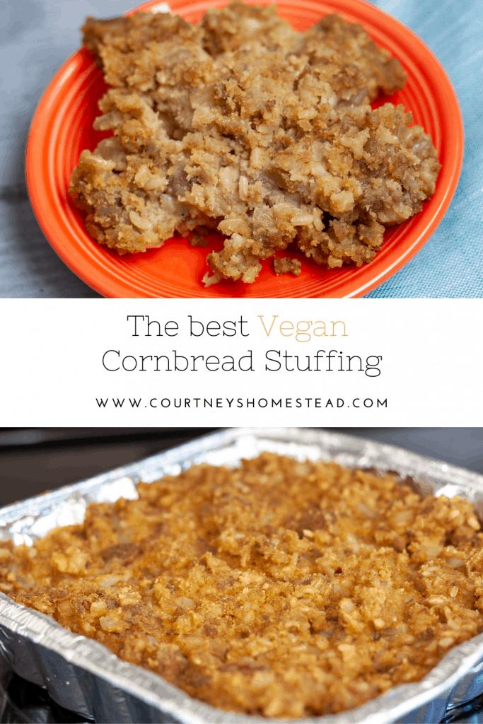 The best vegan cornbread stuffing