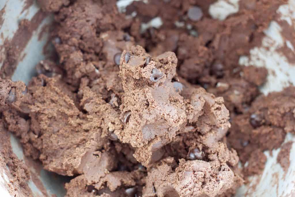 vegan brownie cookie dough
