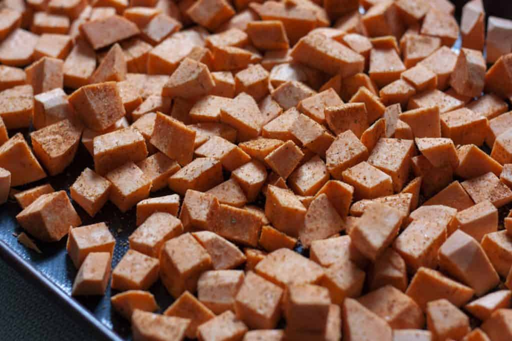 precooked sweet potatoes