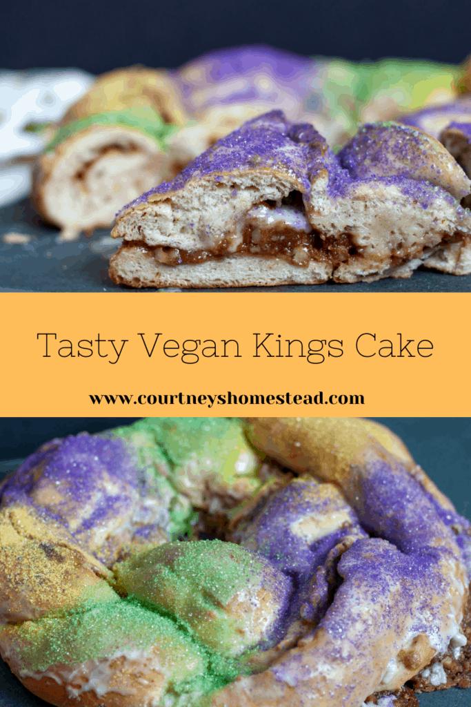 Tasty Vegan Kings Cake