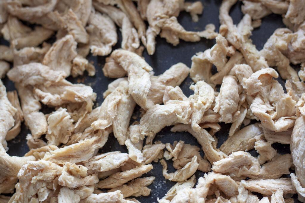 pre-cooked vegan teriyaki soy curls