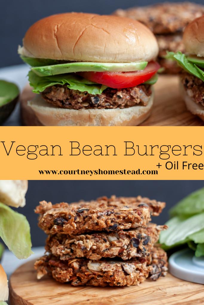 Vegan Bean Burgers